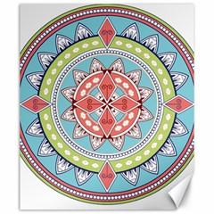 Drawing Mandala Art Canvas 20  X 24