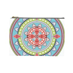 Drawing Mandala Art Cosmetic Bag (large)