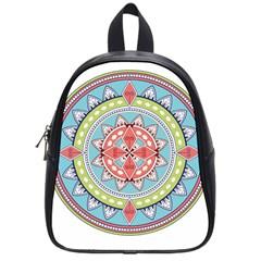 Drawing Mandala Art School Bags (small)