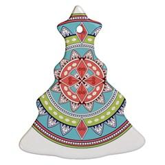Drawing Mandala Art Ornament (christmas Tree)