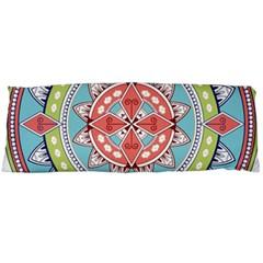 Drawing Mandala Art Body Pillow Case (dakimakura)