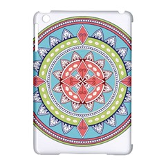 Drawing Mandala Art Apple Ipad Mini Hardshell Case (compatible With Smart Cover)
