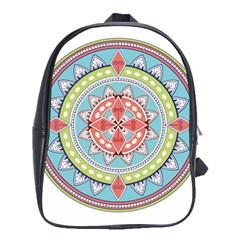 Drawing Mandala Art School Bags (xl)