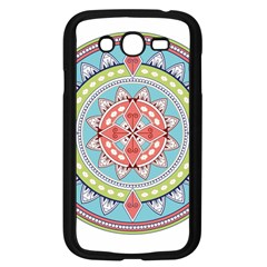 Drawing Mandala Art Samsung Galaxy Grand Duos I9082 Case (black)