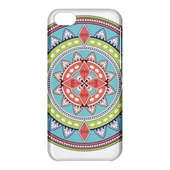 Drawing Mandala Art Apple Iphone 5c Hardshell Case