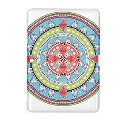 Drawing Mandala Art Samsung Galaxy Tab 2 (10 1 ) P5100 Hardshell Case