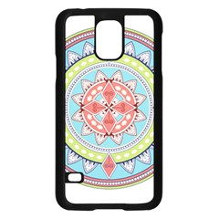 Drawing Mandala Art Samsung Galaxy S5 Case (black)