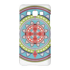 Drawing Mandala Art Samsung Galaxy A5 Hardshell Case