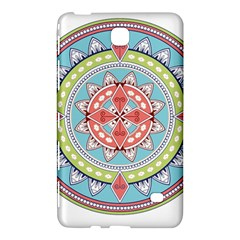 Drawing Mandala Art Samsung Galaxy Tab 4 (8 ) Hardshell Case