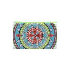Drawing Mandala Art Cosmetic Bag (xs)