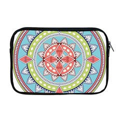 Drawing Mandala Art Apple Macbook Pro 17  Zipper Case