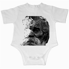 Grandfather Old Man Brush Design Infant Creepers