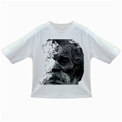Grandfather Old Man Brush Design Infant/toddler T Shirts
