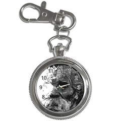 Grandfather Old Man Brush Design Key Chain Watches