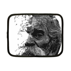 Grandfather Old Man Brush Design Netbook Case (small)