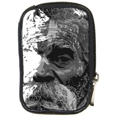Grandfather Old Man Brush Design Compact Camera Cases