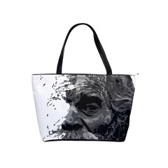 Grandfather Old Man Brush Design Shoulder Handbags