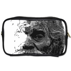 Grandfather Old Man Brush Design Toiletries Bags