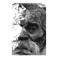 Grandfather Old Man Brush Design Shower Curtain 48  X 72  (small)