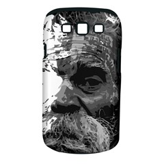 Grandfather Old Man Brush Design Samsung Galaxy S Iii Classic Hardshell Case (pc+silicone)