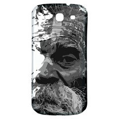 Grandfather Old Man Brush Design Samsung Galaxy S3 S Iii Classic Hardshell Back Case