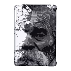 Grandfather Old Man Brush Design Apple Ipad Mini Hardshell Case (compatible With Smart Cover)
