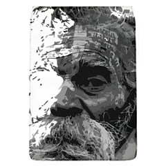 Grandfather Old Man Brush Design Flap Covers (l)