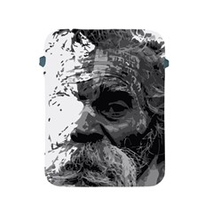 Grandfather Old Man Brush Design Apple Ipad 2/3/4 Protective Soft Cases