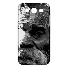 Grandfather Old Man Brush Design Samsung Galaxy Mega 5 8 I9152 Hardshell Case