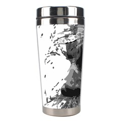 Grandfather Old Man Brush Design Stainless Steel Travel Tumblers