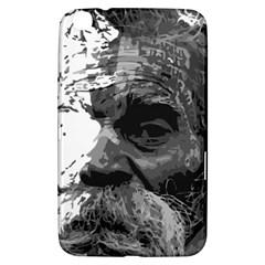 Grandfather Old Man Brush Design Samsung Galaxy Tab 3 (8 ) T3100 Hardshell Case