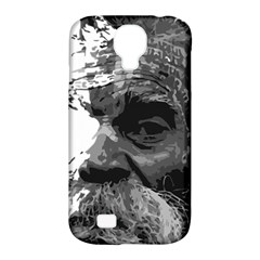 Grandfather Old Man Brush Design Samsung Galaxy S4 Classic Hardshell Case (pc+silicone)