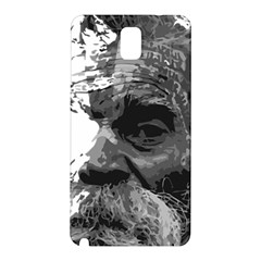 Grandfather Old Man Brush Design Samsung Galaxy Note 3 N9005 Hardshell Back Case