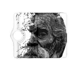 Grandfather Old Man Brush Design Kindle Fire Hdx 8 9  Flip 360 Case