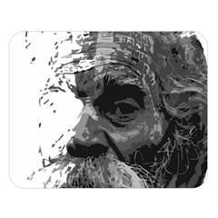 Grandfather Old Man Brush Design Double Sided Flano Blanket (large)