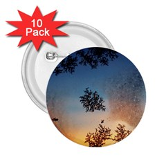 Hardest Frost Winter Cold Frozen 2 25  Buttons (10 Pack)