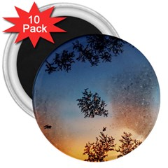 Hardest Frost Winter Cold Frozen 3  Magnets (10 Pack)