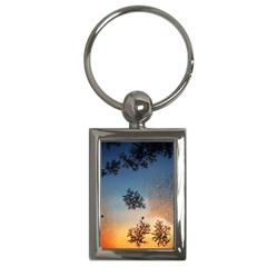 Hardest Frost Winter Cold Frozen Key Chains (Rectangle)