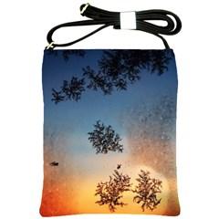 Hardest Frost Winter Cold Frozen Shoulder Sling Bags