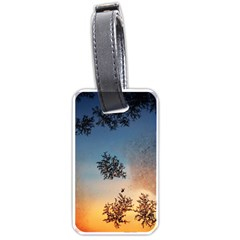Hardest Frost Winter Cold Frozen Luggage Tags (one Side)