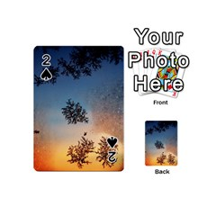 Hardest Frost Winter Cold Frozen Playing Cards 54 (mini)