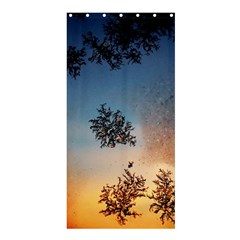 Hardest Frost Winter Cold Frozen Shower Curtain 36  x 72  (Stall)