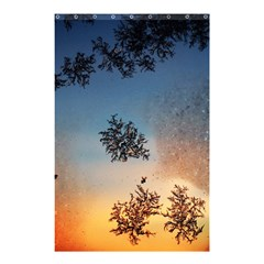 Hardest Frost Winter Cold Frozen Shower Curtain 48  X 72  (small)