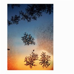 Hardest Frost Winter Cold Frozen Small Garden Flag (two Sides)