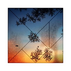Hardest Frost Winter Cold Frozen Acrylic Tangram Puzzle (6  X 6 )