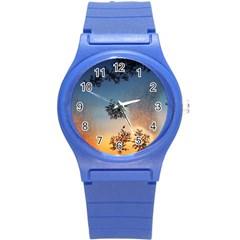 Hardest Frost Winter Cold Frozen Round Plastic Sport Watch (s)