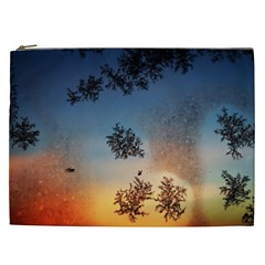 Hardest Frost Winter Cold Frozen Cosmetic Bag (xxl)
