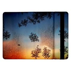 Hardest Frost Winter Cold Frozen Samsung Galaxy Tab Pro 12 2  Flip Case