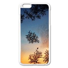 Hardest Frost Winter Cold Frozen Apple Iphone 6 Plus/6s Plus Enamel White Case