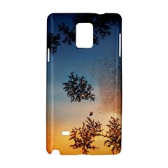 Hardest Frost Winter Cold Frozen Samsung Galaxy Note 4 Hardshell Case